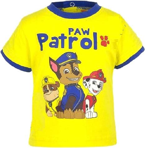Paw Patrol Short Sleeve T-Shirt New Official   Boys Kids