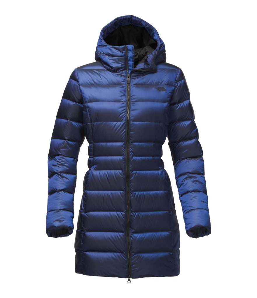 The North Face Women's Gotham Parka II - Brit Blue - XS (Past Season)