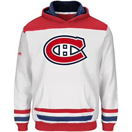 Image Unavailable. Image not available for. Color  New W Tags Montreal  Canadiens NHL Double Minor Hoodie Fleece Sweatshirt Sewn Team Emblem Mens 528d9c7e0