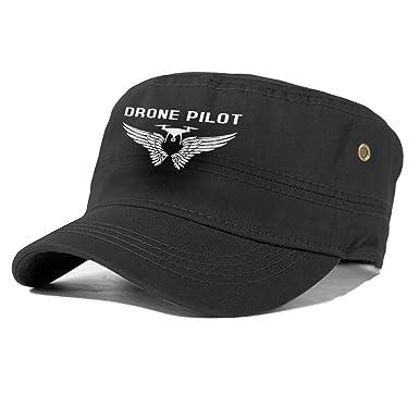 Drone Pilot Gorra Plana de algodón, Sombrero de Cabina Gatsby Ivy ...