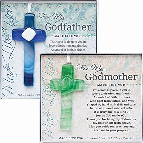 [Grandparents Gifts Handmade Cross Gift Set for Grandparents Godmother Gifts Baptized in Christ Great Gifts for Godparents Handmade in] (Fairy Godmother Costume Toddler)