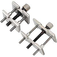 Morsetto regolabile jaw orologi orologiai, movimento del movimento Holder