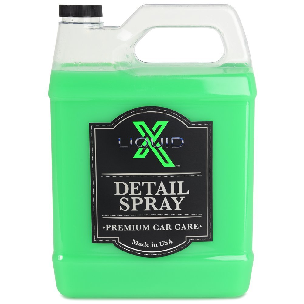 Liquid X Detail Spray with Quick Sealant - Gives a Just Waxed Look (1 Gallon)