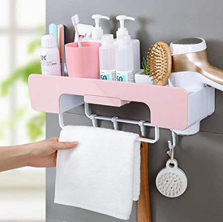 Magnet Soap Holder Wall Mounted Storage Rack with Sticker Bathroom Soap Holder