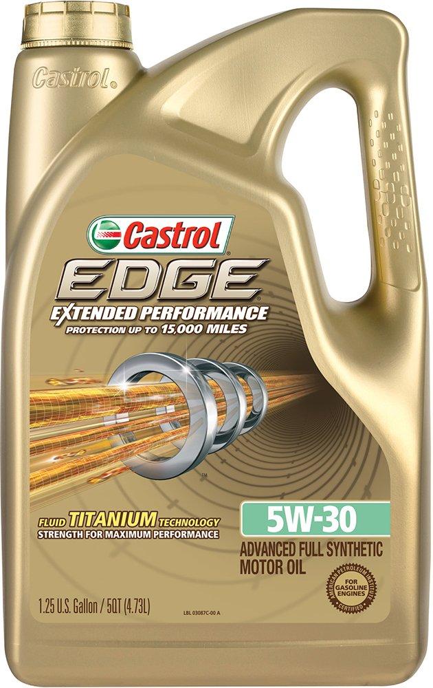 castrol 03087 edge extended performance 5w 30 synthetic motor oil 5 quart ebay. Black Bedroom Furniture Sets. Home Design Ideas