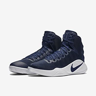 half off 0fba3 cee76 Nike Hyperdunk 2016 TB - Trainers, Men, Blue - (Midnight Navy Midnight Navy-White),  45.5  Amazon.co.uk  Shoes   Bags