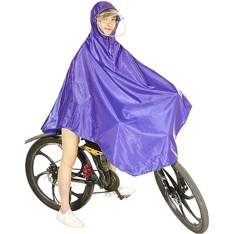 QIYUEYU Chaqueta Impermeable de Ciclismo, Chaqueta ...