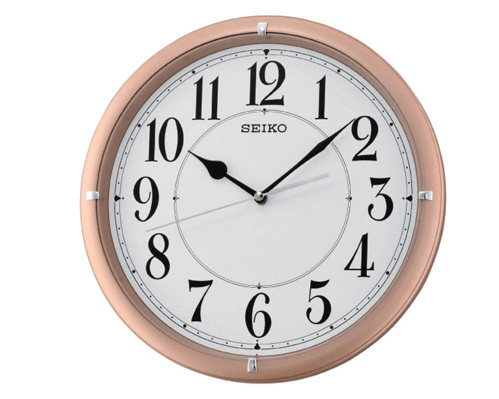 Buy seiko wall clock 31 cm x 31 cm x 5 cm beige qxa637pn buy seiko wall clock 31 cm x 31 cm x 5 cm beige qxa637pn online at low prices in india amazon amipublicfo Image collections