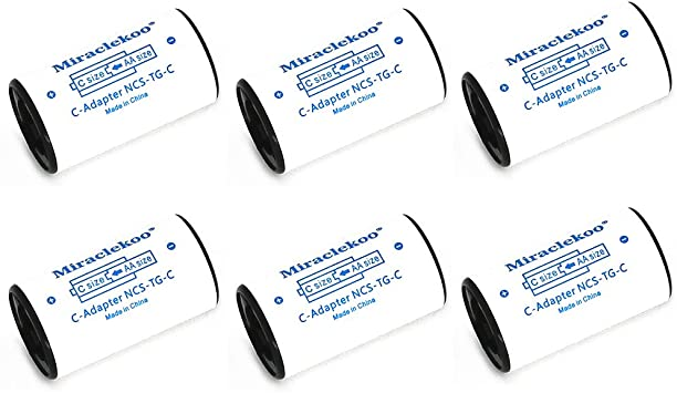 Amazon.com: miraclekoo C Tamaño espaciadores de batería para ...