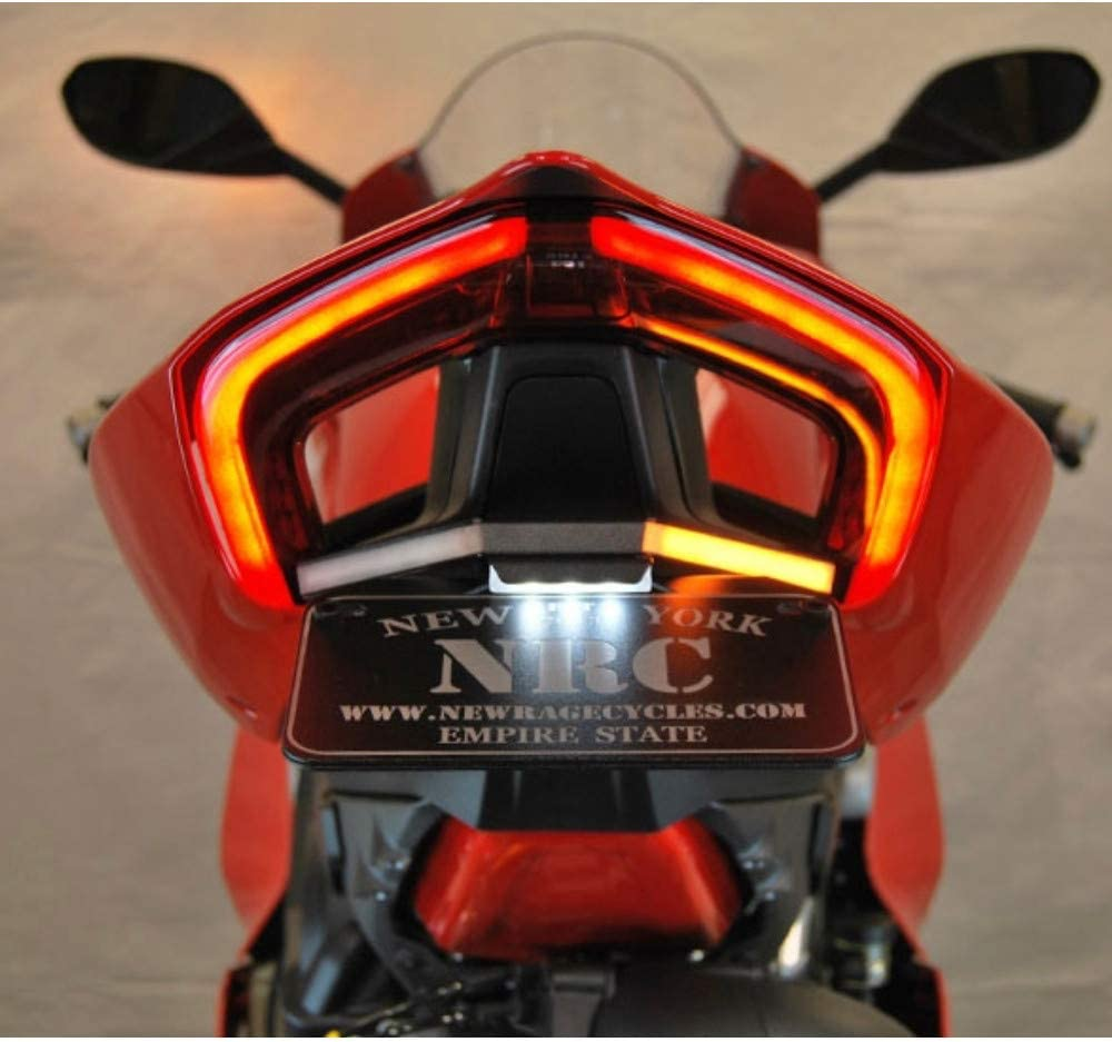New Rage Cycles Fender Eliminator compatible with Ducati Panigale V2