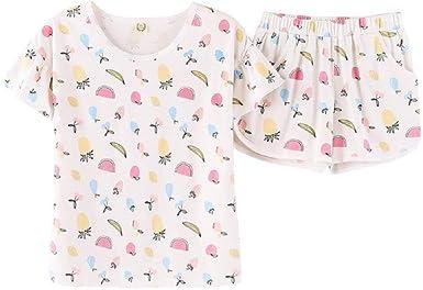 Pijamas Lindos Verano Mujer Pantalones Cortos De Casuales De ...