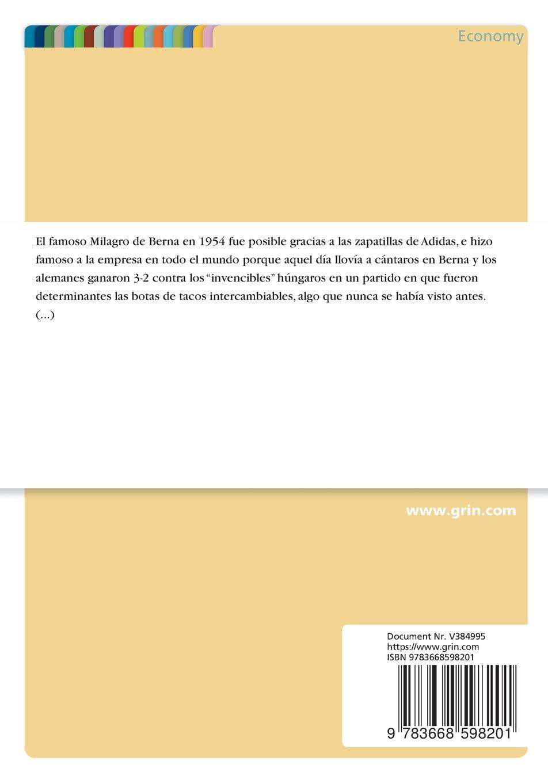 Estrategia de Segmentación del Mercado de Una Empresa. El Ejemplo Adidas (Spanish Edition): Markus Giesecke: 9783668598201: Amazon.com: Books