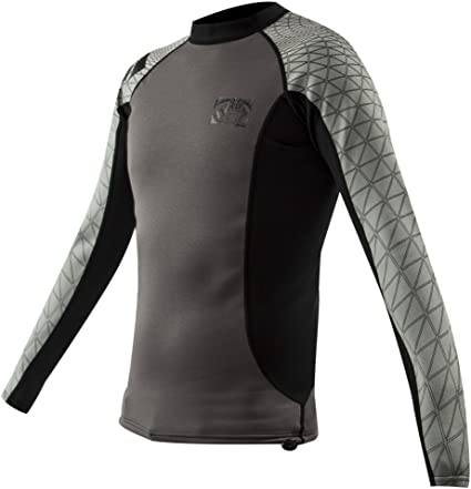 Body Glove Mens .5mm 1 TI-SI Titanium Insotherm Short Sleeve Wetsuit Top X-Large
