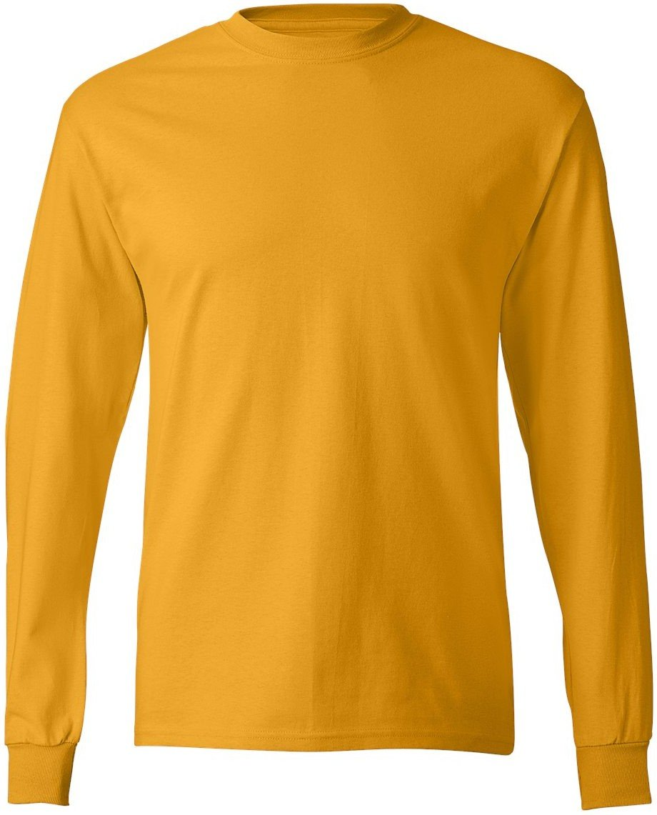 Hanes Adult Tagless Long Sleeve Tee 5586