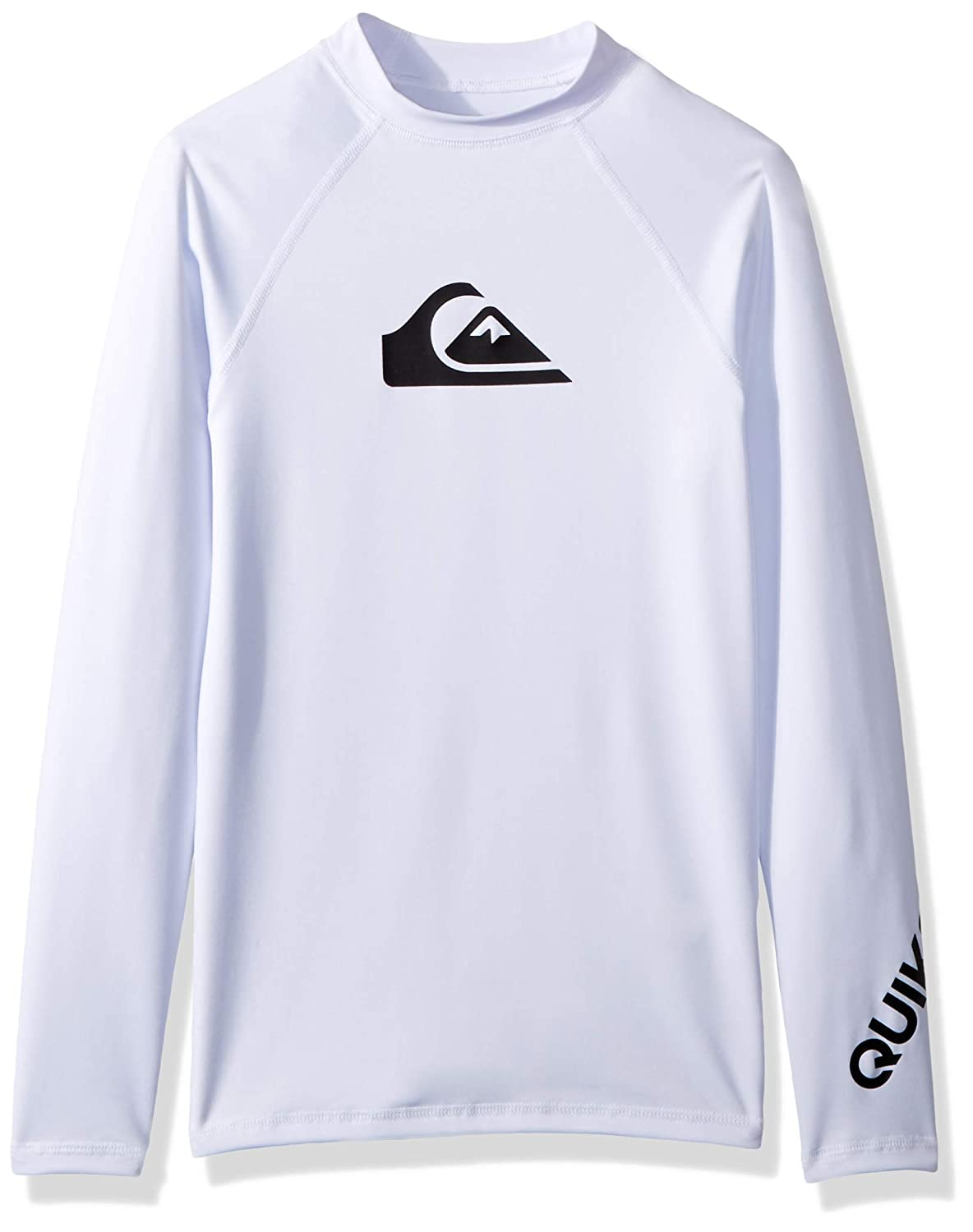 Quiksilver Boys Big Boys All Time Long Sleeve Surf Tee Rashguard EQBWR03047