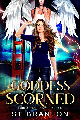 Goddess Scorned (The Forgotten Gods Series Book 2) cover