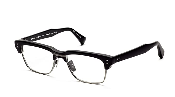 3445cd0e1c46 Dita GRAND RESERVE TWO DRX2061A 52mm Eyewear Matte Black - Antique Silver