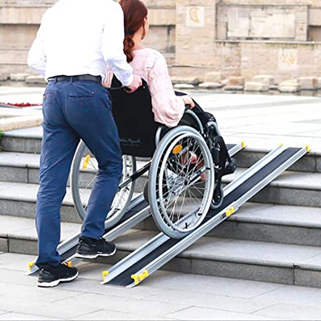 Rampas para silla de ruedas