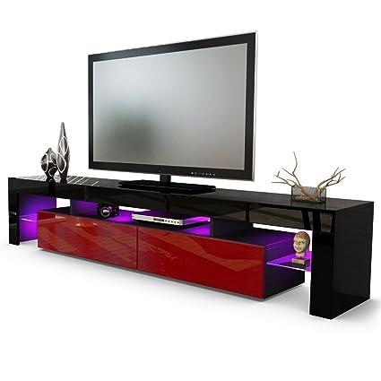 Amazon Com Helios 200 Modern Tv Entertainment Unit For Living Room