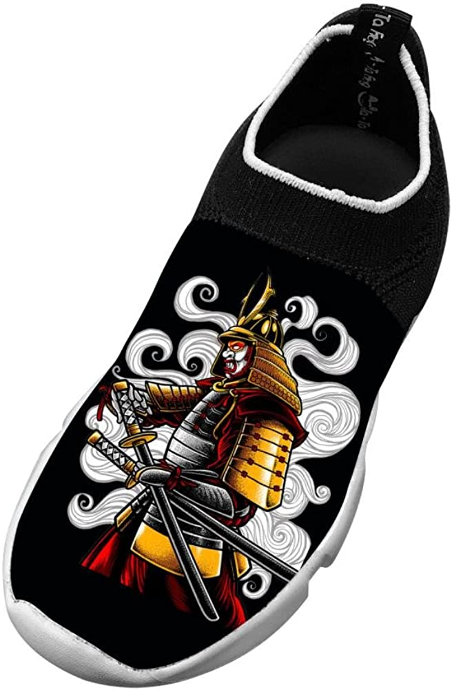 Japanese Samurai New Awesome Flywire Weaving 3D Printing Running Shoe For Unisex Child