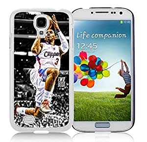 New Custom Design Cover Case For Samsung Galaxy S4 I9500 i337 M919 i545 r970 l720 LA Clippers Chris Paul 3 White Phone Case