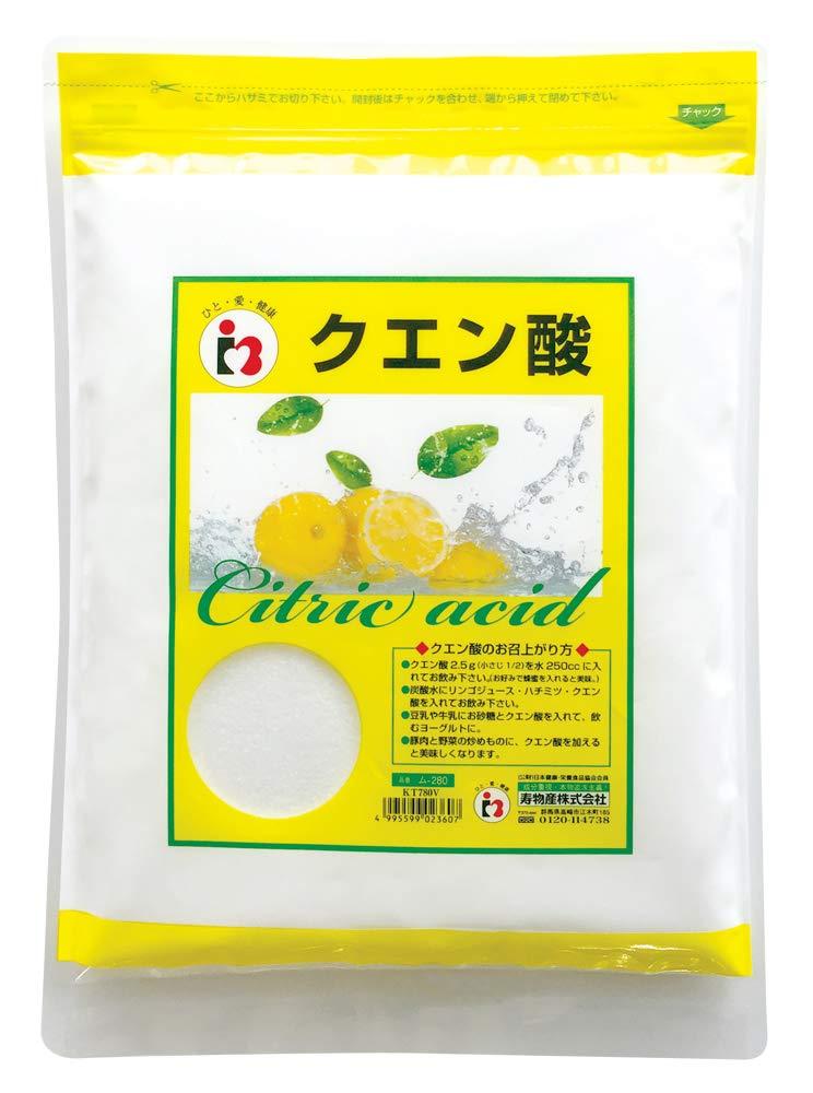 無水クエン酸 950g 食用 純度99.5%以上 [食品添加物グレード] product image