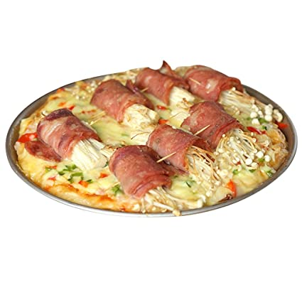 Bandeja de pizza Bandejas para Horno Hogar Modo Difícil Bandeja para Hornear Horno Antiadherente para Hornear