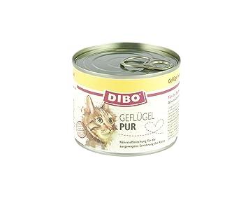 dibo Cat Aves, 6 x 185 g de lata, gato Forro, húmedo Forro