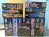 img - for The Wheel of Time, 15 Book Set: New Spring, Eye the World, Great Hunt, Dragon Reborn, Shadow Rising, Fires Heaven, Lord Chaos, Crown Swords, Path Daggers, Winter's Heart, Crossroads Twilight, Knife Dreams, Gathering Storm, Towers Midnight, Memory Light book / textbook / text book