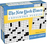 The New York Times Crosswords 2018 Day-to-Day Calendar