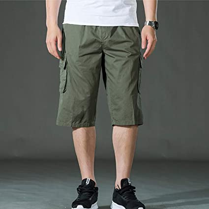 Vine/_MINMI Beach Trunks Printing Casual Loose Belt Drawstring Quick Dry Shorts Pants with Pocket Mens Sports Shorts