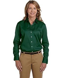 e44819e1061 Chestnut Hill Women s 32 Singles Long Sleeve Twill Button Down Dress Shirt  CH500W