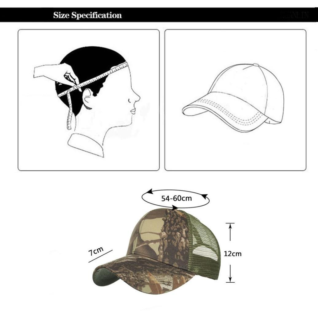 cd709d5d0d7 U.Expectating Hat Camouflage Canvas Baseball Cap