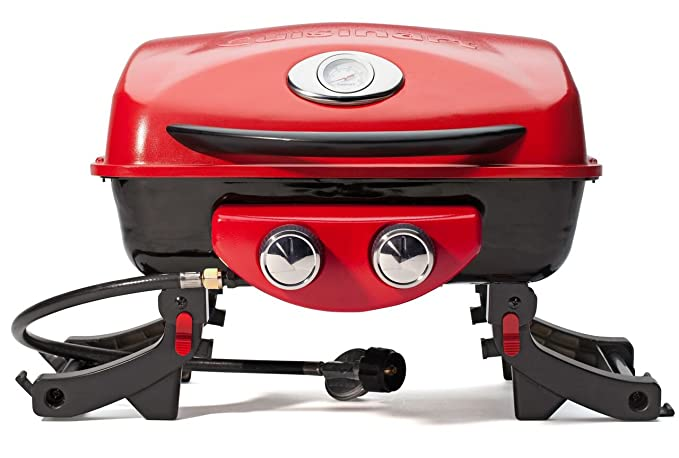 Cuisinart CGG-522 Dual Blaze Gas Grill – Best For Boats, Balconies And Smaller Spaces