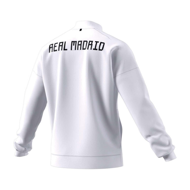 adidas 2018-2019 Real Madrid ZNE Anthem Jacket (White)