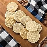 Nordic Ware Cast Cookie Stamps Honeybee, 3