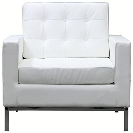 Amazon.com: modway Loft piel Sillón: Kitchen & Dining