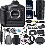 6Ave Canon EOS-1D X DSLR Camera International version (No Warranty) + Tamron SP 70-200mm f/2.8 Di VC USD G2 Lens for Canon EF + Battery Grip + LP-E6N Replacement Lithium Ion Battery Bundle
