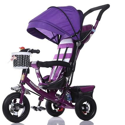 209df307e TUJHGF Sillita De Paseo Triciclos para Niños Coches para Niños Bicicletas  para Bebés 1-3