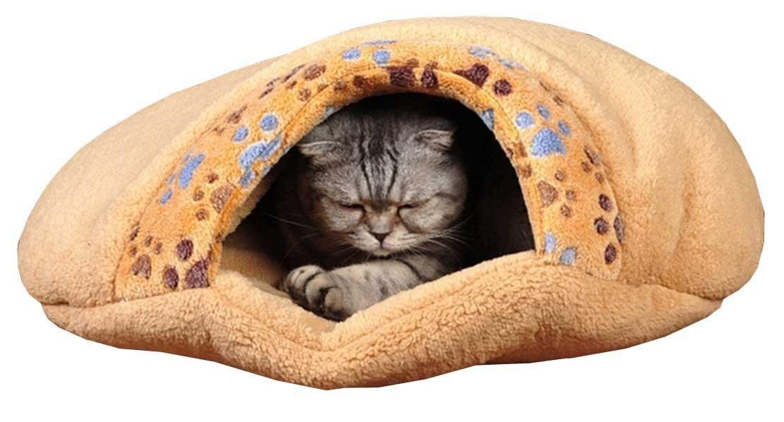 Switty Mascotas Saco de Dormir del Gato de casa de albergue (Pequeño): Amazon.es: Productos para mascotas