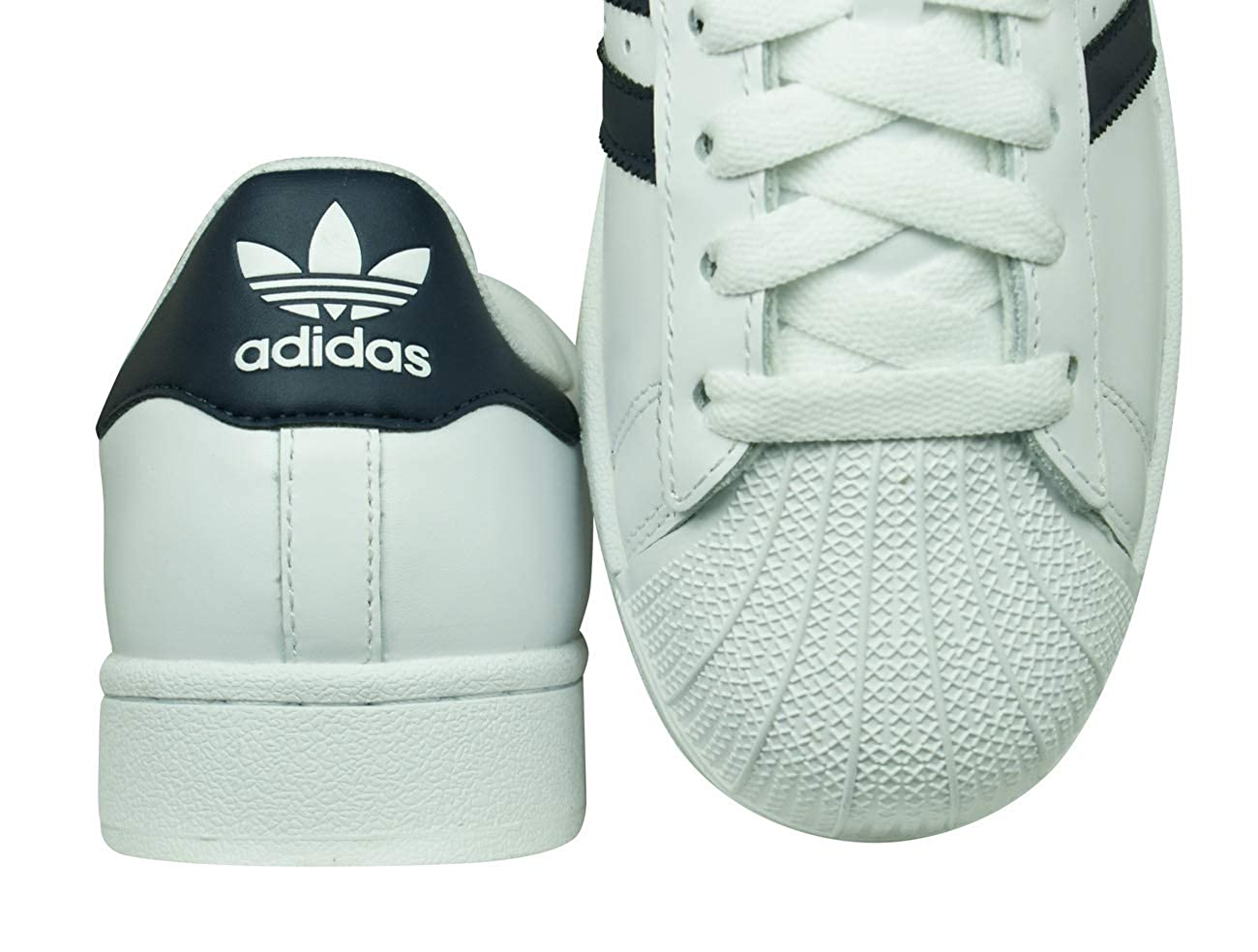 Adidas Originals Superstar II Trainers WhiteNavy Casual Lace Up G17070 New | eBay