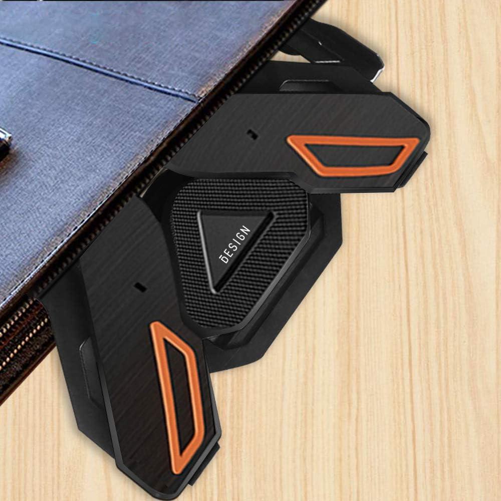 Besign LS01 Soporte Port/átiles DELL Lenovo y dem/ás port/átiles de entre 10-15,6 Soporte para Elevador de Ordenadores Compatible con MacBook air pro HP Soporte Ergon/ómico Ajustable para Port/átiles