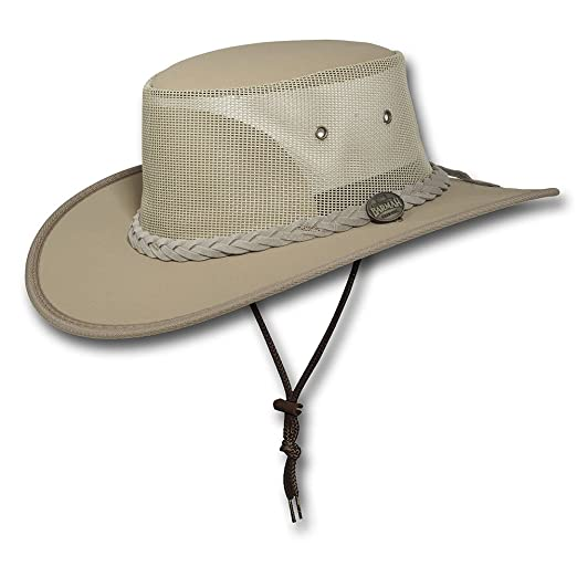 cd6614448a3 Barmah Hats Canvas Drover Hat 1057BE   1057KH   1057BR   1057BL - Beige -  Small