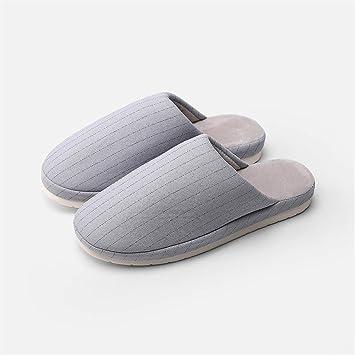 SLIPPERSXSJ Zapatillas De Algodón Zapatillas De Hombre Sencillas Y Cómodas. Zapatillas De Algodón De Algodón Cálido, 44-45 / 27Cm.: Amazon.es: Hogar