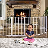 Baby : 4-in-1 Adjustable Super Wide 16-ft (488-cm) Gate and Play Yard (4 in 1)
