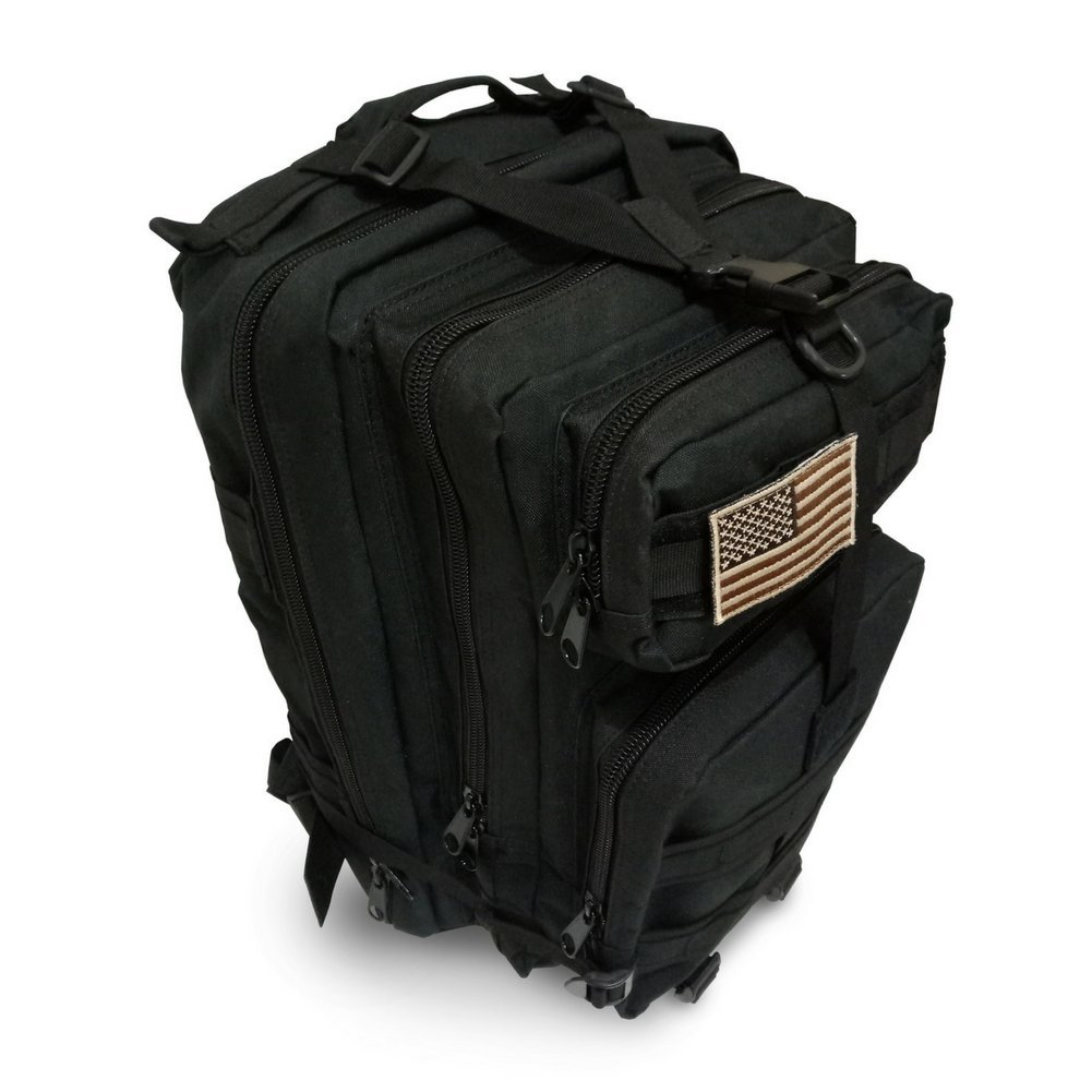 Military Tactical Backpack, Large Outdoor Rucksack for 3 Day Assault Pack Army Molle Bug Out Bag 40 L by Tacticca (Image #8)