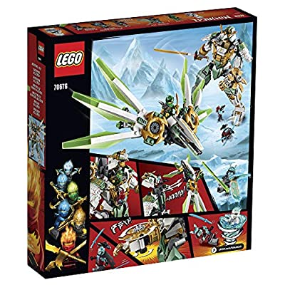 LEGO NINJAGO Lloyd's Titan Mech 70676 Ninja Toy Building Kit with Ninja Minifigures for Creative Play, Fun Action Toy includes NINJAGO characters including Lloyd, Zane FS and more (876 Pieces): Toys & Games