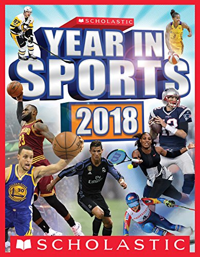 94cad5fd8294 Book Cover of James Buckley Jr. - Scholastic Year in Sports 2018