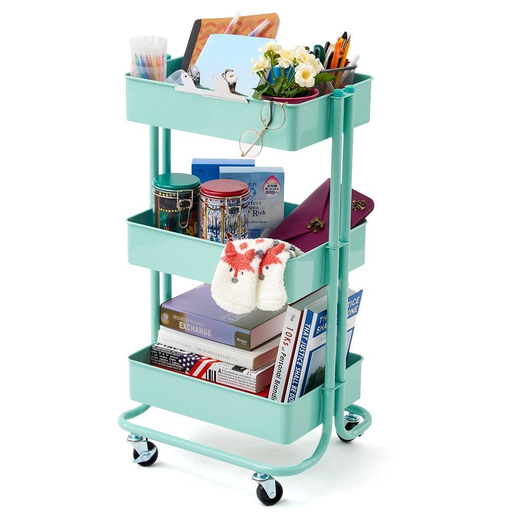 Amazon.com : 3-Tier Heavy Duty Storage Organizer Standing Shelf ...