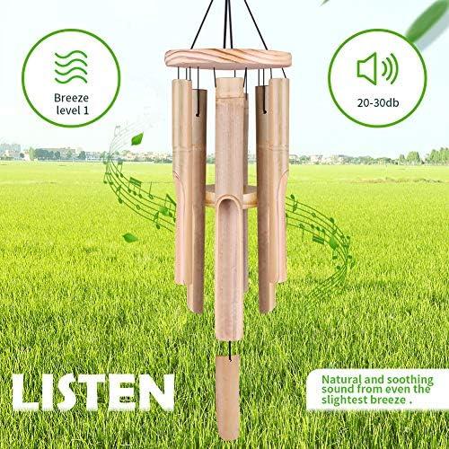 Amazon.com: Campanas de viento al aire libre, campanillas de ...